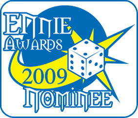 Ennie Award Nominee (2009)